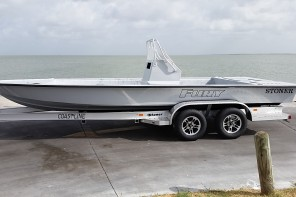 2015 Stoner Fury Hull and Trailer 25500.00
